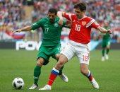 25 دقيقة.. روسيا 1 - 0 السعودية فى افتتاح كأس العالم