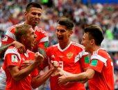 كأس العالم 2018.. روسيا أول المتأهلين لدور الـ16 بالمونديال