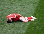 الإصابة تهدد مشاركة لاعب روسيا أمام مصر فى كأس العالم