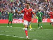 تشيرشيف أول لاعب بديل يسجل فى تاريخ مباريات كأس العالم الافتتاحية
