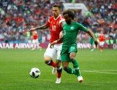 شاهد.. روسيا تمزق شباك السعودية بخماسية نظيفة فى افتتاح كأس العالم