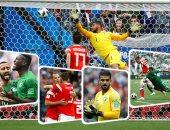 روسيا تهزم السعودية بخماسية نظيفة فى افتتاح كأس العالم