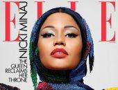 نيكى ميناج بالحجاب على غلاف مجلة Elle.. وفستانها سعره 6168 جنيه استرليني