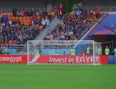 صور.. إعلانات للاستثمار فى مصر داخل ملاعب مونديال روسيا 2018