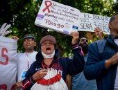 فيديو.. تفاقم الاحتجاجات فى فنزويلا بسبب أزمة نقص الغذاء والدواء