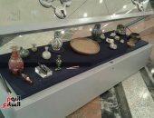 """قبل عرضها لأول مرة.. شاهد مقنيات معرض """"البيت الإسلامى"""" فى متحف السويس"""