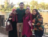 صور.. والدة تريزيجيه وشقيق الشناوى يوجهان رسالة للمصريين