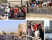 المصريون يحتفلون بعيد الفطر على ضفاف نهر النيل