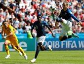 أهداف مباريات السبت بكأس العالم.. فرنسا تضرب استراليا بثنائية