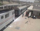 """""""السكة الحديد"""" تعتذر عن تأخر قطار بورسعيد نتيجة تصاعد أدخنة بإحدى عرباته"""