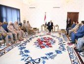 الرئيس اليمنى يؤكد الدور المحورى لتحالف دعم الشرعية