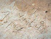 صور.. العثور على نقش لاتينى ويونانى وقبطى على صخرة فى إنجلترا