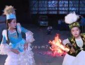 شاهد.. رقص مسلمى الصين للاحتفال بعيد الفطر