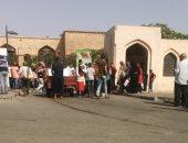 صور.. توافد المواطنين على حديقة الأزهر فى ثانى أيام عيد الفطر