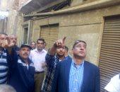 انهيار سقف عقار بحاره العسال غرب الإسكندرية دون إصابات