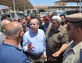 رئيس جهاز حماية المستهلك يتفقد موقف سيارات الأجرة فى رأس البر وكفر سعد