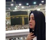 """لطيفة تؤدى مناسك العمرة: """"أجمل الأعياد زائرة لسيدى رسول الله"""""""
