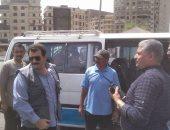 صور.. حملات تفتيشية على محطات الوقود فى شبرا لمتابعة تحريك أسعار الوقود