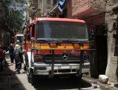 نشوب حريق بأحد الشقق السكنية بمنطقة مساكن عثمان وإصابة 4 فتيات بقنا