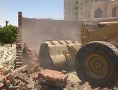 """حملة لإزالة التعديات على أملاك الدولة بـ""""الجلوس"""" قرية نفيشة بالإسماعيلية"""