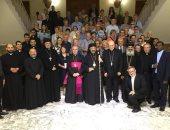 صور.. استقبال ثالث أفواج حجاج مسار العائلة المقدسة فى مصر