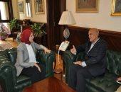 وزيرة الصحة تستقبل مجدى يعقوب للاستفادة من خبراته فى إنشاء وحدات قلب