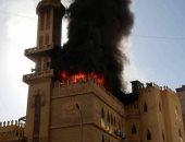 """""""الحماية المدنية"""" تسيطر على حريق اندلع فى دار أيتام بالإسكندرية"""