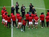 حافلة المنتخب تصل ملعب فولجوجراد لخوض مباراة السعودية