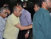 صور وفيديو.. ماجد المصرى وعمرو عبد الجليل وأحمد صيام فى عزاء الراحل ماهر عصام