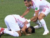 فيديو.. تونس تتعادل أمام إنجلترا 1-1 فى الشوط الأول