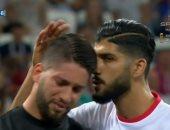 كأس العالم 2018.. حارس تونس يبكى بعد إصابته أمام إنجلترا.. صور