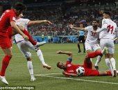 كأس العالم 2018..  إنجلترا تلدغ تونس بهدف قاتل فى الدقيقة الأخيرة وتفوز  2-1
