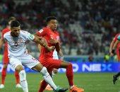 """الحكم الكولومبى يحرم منتخب إنجلترا من """"ركلتا جزاء"""" أمام تونس بالمونديال"""