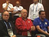 هانى أبو ريدة يهنئ منتخب الشاطئية بالفوز على المغرب