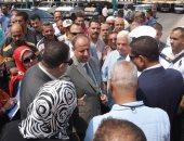 محافظ الإسكندرية يتفقد الموقف الجديد ويتابع تطبيق تسعيرة الركوب الجديدة