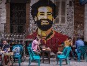 نيويورك تايمز: صورة لمحمد صلاح بالقاهرة أصبحت مزار للمصريين والسائحين