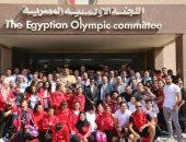 سفير مصر بإسبانيا يزور البعثة المصرية المشاركة فى دورة ألعاب البحر المتوسط