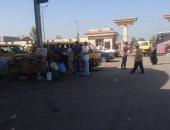 رئيس مدينة كوم أمبو: إنهاء إضراب سائقى موقف منيحة - كرم الديب