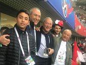 """نجيب ساويرس بعد خسارة المنتخب من روسيا: """"ملناش نصيب نفرح"""""""