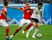 أحمد حجازى خارج مواجهة مصر أمام سوازيلاند بسبب إنذار النيجر