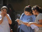 صور.. 620 ألف طالب بالثانوية العامة يبدأون امتحان مادتى الفيزياء والتاريخ