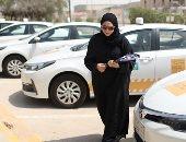 صور.. مراكز تعليم قيادة السيارات فى السعودية كامل العدد بسبب المرأة
