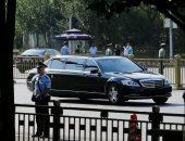 صور.. وصول زعيم كوريا الشمالية إلى الصين فى زيارة لمدة يومين