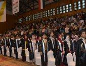فيديو وصور.. جامعة أسيوط تنظم حفل تخرج الدفعة 57 لطلاب كلية الهندسة