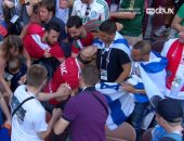 كأس العالم 2018.. جماهير المغرب تمنع رفع علم إسرائيل فى المدرجات.. فيديو