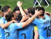 أوروجواى تتصدر المجموعة الأولى وتنتظر وصيف الثانية بدور الـ16 بكأس العالم