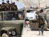 الجيش السورى ينتشر فى معبر نصيب الحدودى مع الأردن بعد تطهيره من الإرهابيين