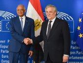 صور.. رئيس البرلمان الأوروبى يدعو دول الاتحاد لتوجيه استثماراتها الخارجية لمصر