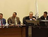 محافظ بنى سويف يناقش تنفيذ الصرف الصحى الجديد بقرى الواسطى وناصر