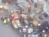شكوى من استغلال المحلات للأرصفة والحدائق بشارع محمد مقلد فى مدينة نصر